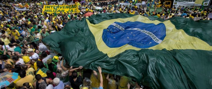 The Current Political Crisis in Brazil:  Daniel Buarque Interviews CIBS' executive director Biorn Maybury-Lewis