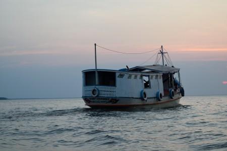 River boat near Curralinho, Marajó Island